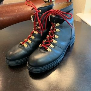 Urban Outfitters Jessa Leather Hiker Size 9